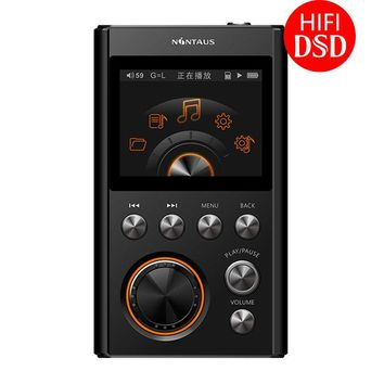 NiNTAUS X10 MP3 Player Upgraded Version DSD64 24Bit/192Khz Entry-level HIFI Music High Quality Mini Sports DAC WM8965 CPU 16GB