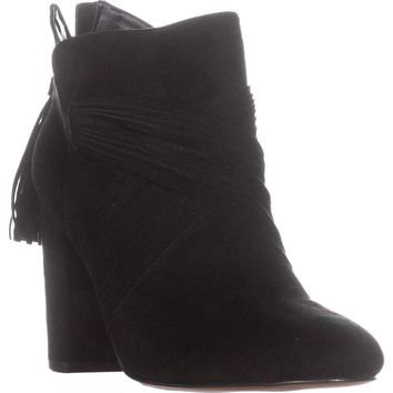 Chelsea & Zoe Kimball Casual Ankle Boots, Black, 9 US