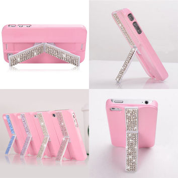 lovely stand case for iphone4/4s