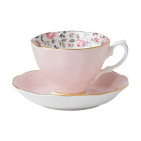 Royal Albert Rose Confetti Teacup/ Saucer Set