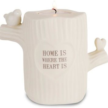 Home is Where the Heart is Candle Holder