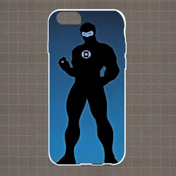 DC Marvel Heroes Silhouette 02 iPhone 4/4S, 5/5S, 5C Series Hard Plastic Case