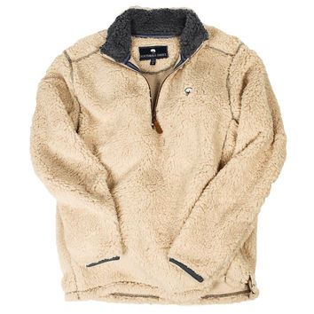 Southern Shirt Co. 1/4 Zip Sherpa Pullover