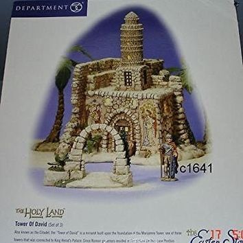 Department 56 Tower of David The Holy Land series