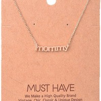 Must Have-Mommy Necklace, Rose Gold