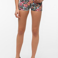 Urban Outfitters - Ziggy Sticks And Bones Denim Short - Printed