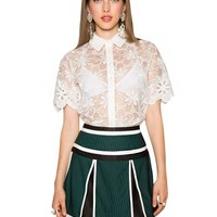 Half Time Pleated Skirt