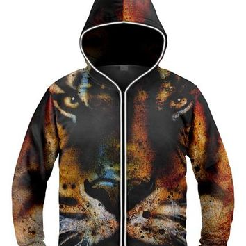 King of the jungle Light Up Hoodie