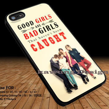 Good Girls Bad Girls iPhone 6s 6 6s+ 5c 5s Cases Samsung Galaxy s5 s6 Edge+ NOTE 5 4 3 #music #5sos DOP2140