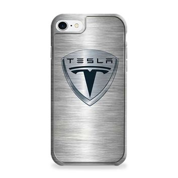 Tesla Motors Brushed Metal Logo iPhone 6 | iPhone 6S Case