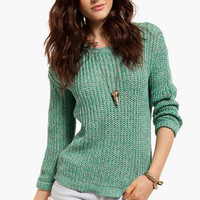 Knit Knack Marled Sweater $39