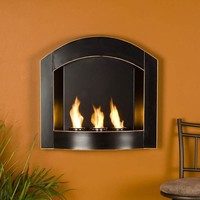Gel Fuel Arch Wall Fireplaces at Brookstone.