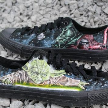 Star Wars Custom hand painted Converse Shoes