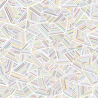Ab Linear Rainbow Removable Wallpaper