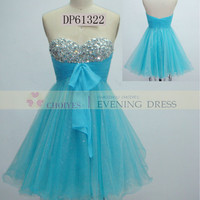 DP61322 blue sweetheart off the shoulder short crystal stone homecoming dress, View homecoming dresses, Choiyes Homecoming Dress Product Details from Chaozhou Choiyes Evening Dress Co., Ltd. on Alibaba.com