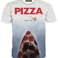 Pizza Jaws Tee