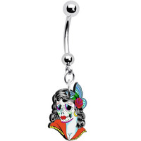 Femme Fatale Zombie Belly Ring | Body Candy Body Jewelry