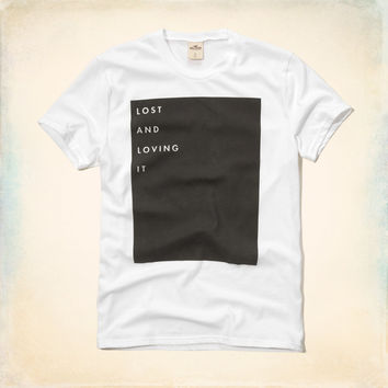 Lost and Loving It Graphic T-Shirt