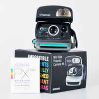 IMPOSSIBLE - cameras: Refurbished 90s Style Polaroid 600 Camera Kit