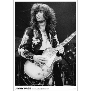 Jimmy Page - Import Poster