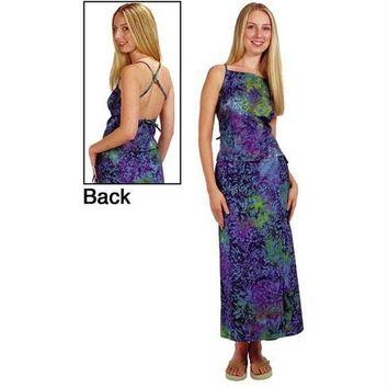 Bali Batik - Tie Dye - Juniors Sheath Dress