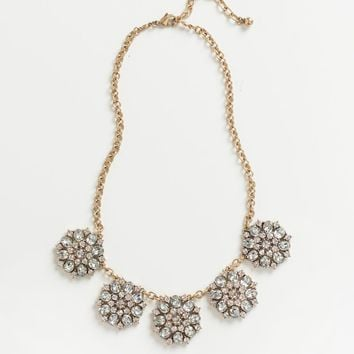 Grace Crystal Statement Necklace