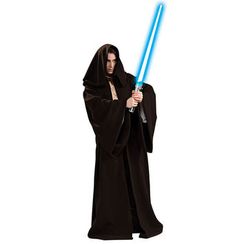 Star Wars Costume Jedi Super Deluxe Adult Robe Costumes Men Warrior Costume