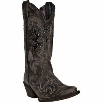 Laredo Women's Lucretia 13 in. Shaft Western Leather Boot - For Life Out Here