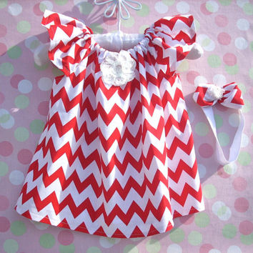 Baby clothes baby girl chevron baby girl clothes kids childrens clothes chevron dress girls dress