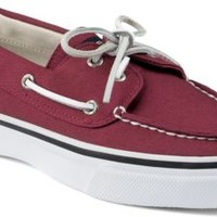 Sperry Top-Sider Bahama Varsity 2-Eye Boat Shoe Burgundy, Size 11M  Men's