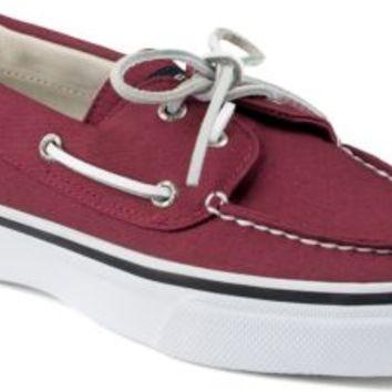 Sperry Top-Sider Bahama Varsity 2-Eye Boat Shoe Burgundy, Size 7M  Men's