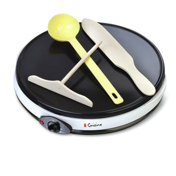 Euro Cuisine Eco Friendly Electric Crepe Maker