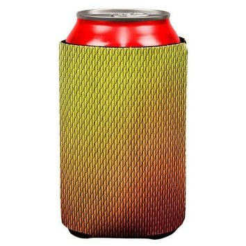 CREYCY8 Halloween Red Fire Dragon Scales Costume All Over Can Cooler