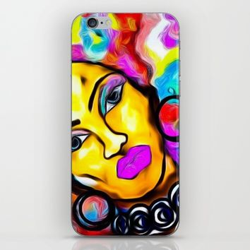 AFROTASTIC iPhone & iPod Skin by violajohnsonriley