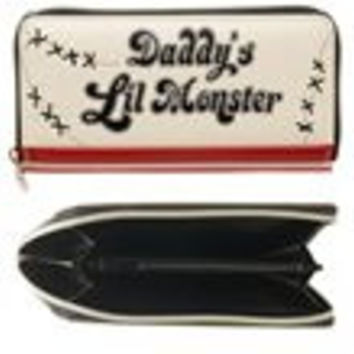 Suicide Squad Daddy's Lil Monster Zip Around Wallet