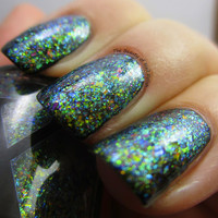 Warped Waters - UltraDENSE Chrome Flakie Polish