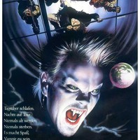 The Lost Boys (German) 11x17 Movie Poster (1987)