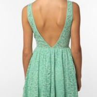 Pins & Needles Backless Lace Dress