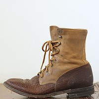Free People Vintage Two-Tone Boots