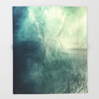 Mystical Roots Throw Blanket by All Is One