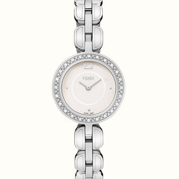 Diamond watch with fur Glamy - FENDI MY WAY | Fendi | Fendi Online Store