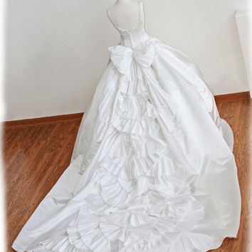 GORGEOUS Princess Ball Gown Wedding Dress with Amazing by AvailCo