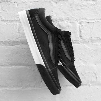 Vans Old Skool Mono Bumper Black-True White Sneaker