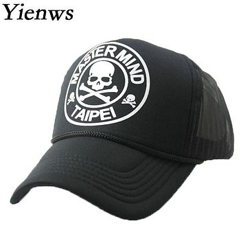 Yienws Western Cowboy Baseball Cap For Woman Baseball Full Cap Bone Trucker Summer Hats For Women Panels Cap YH230