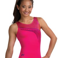 Coral Sparkle Racerback Leo from GK Elite