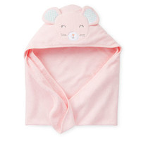 Mouse Hooded Towel For Baby