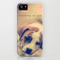 Thinking of you - for iphone iPhone & iPod Case by Simone Morana Cyla