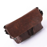 Korean Stylish Men Fashion Vintage One Shoulder Bags [6542459843]