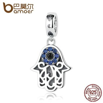 BAMOER Blue Eye Design Pendant