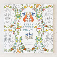 Every Little Thing: A Flat Vernacular Coloring Book By Payton Cosell Turner - Urban Outfitters